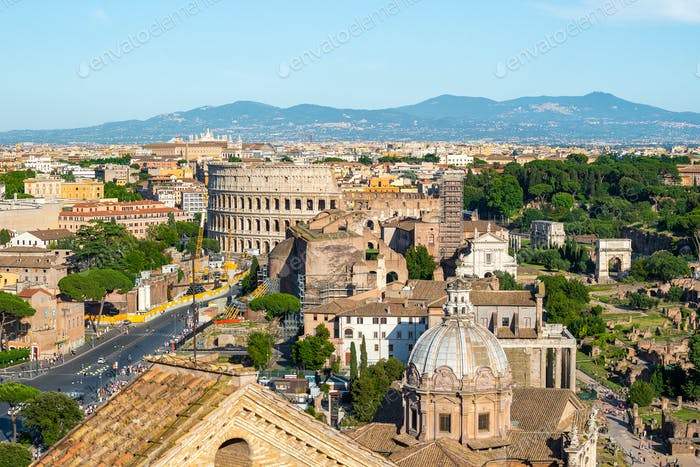 Kolosseum und Basilika
