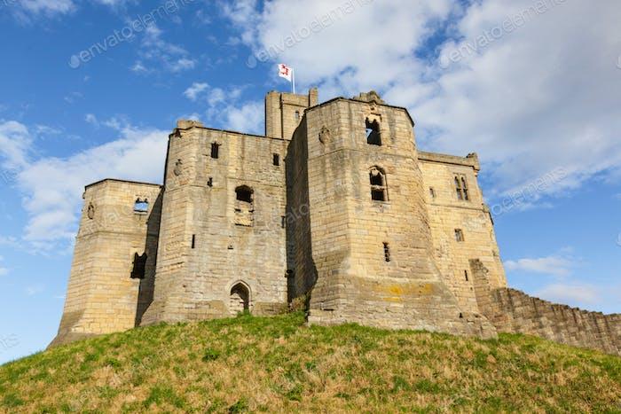 Warkworth Castle in England