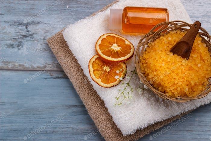 Orange Spa und Wellness Umgebung