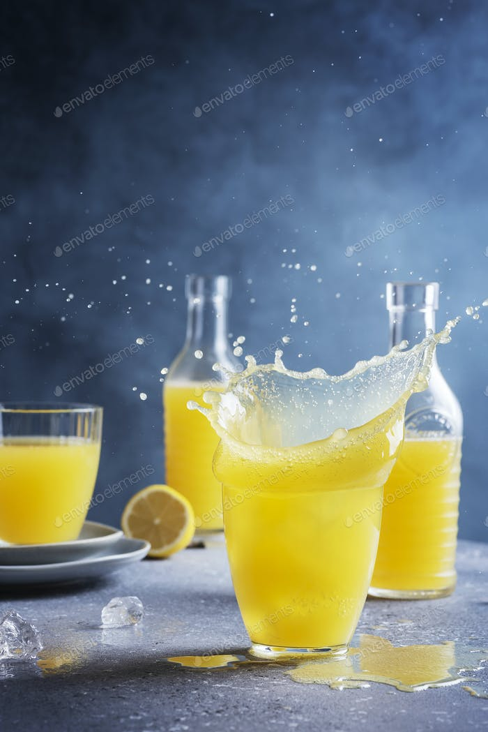 fresh homamade lemonade
