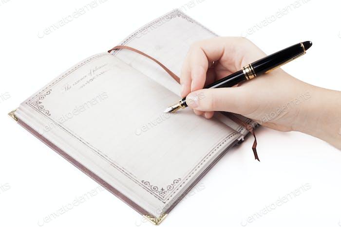 Tagebuchnotiz