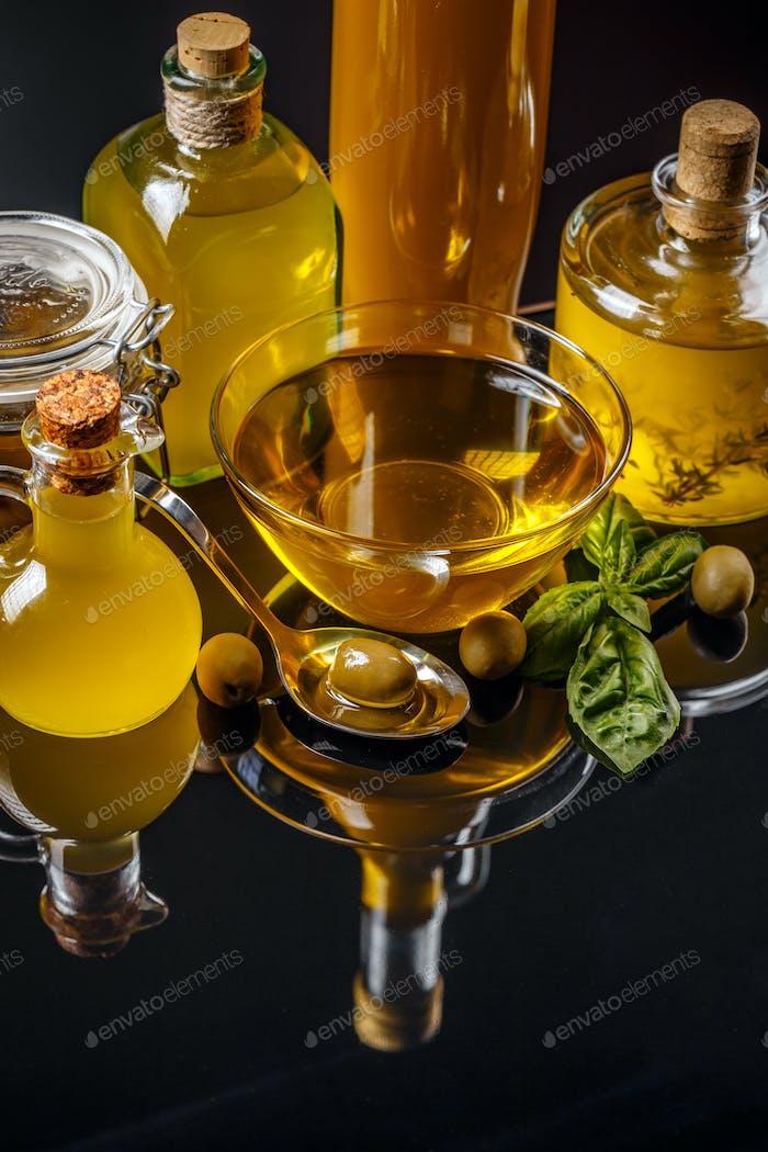 Olive oil concept