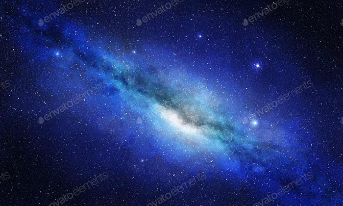 Sternhaufen und Plasma im Weltraum