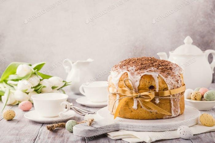 Easter orthodox sweet bread
