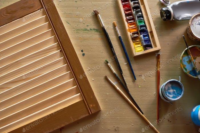 Kunst und Handwerk Hintergrund