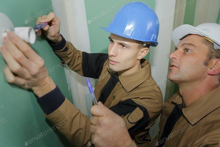 Elektriker Installation Steckdose