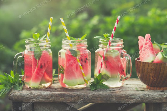 Watermelon beverages