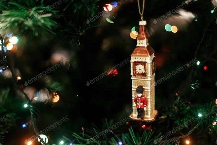 English christmas decoration