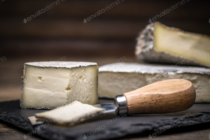 A farmstead cheese