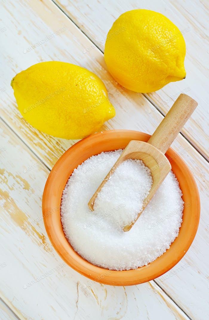 Säure und Zitronen