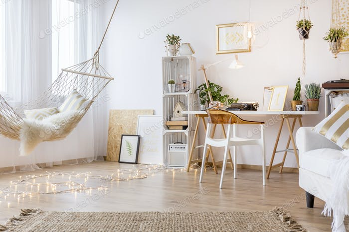 Cozy working place