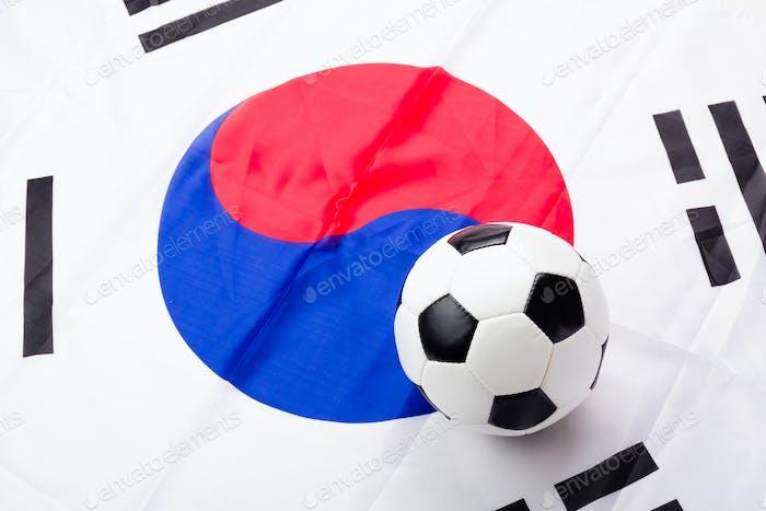 Fabric Flag of South Korea
