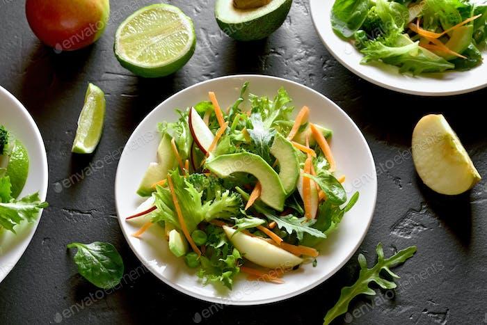 Vegetable fruit salad