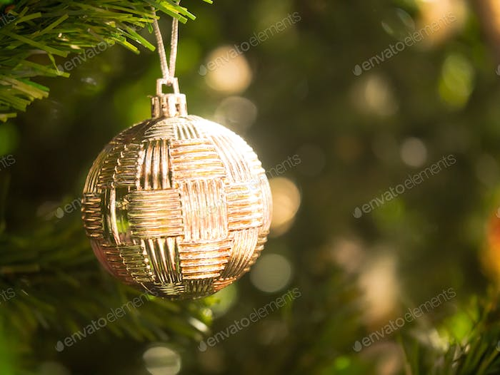 christmas ball ornament