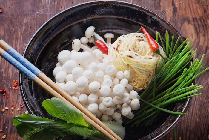 Orientalische Mittagsvorbereitung