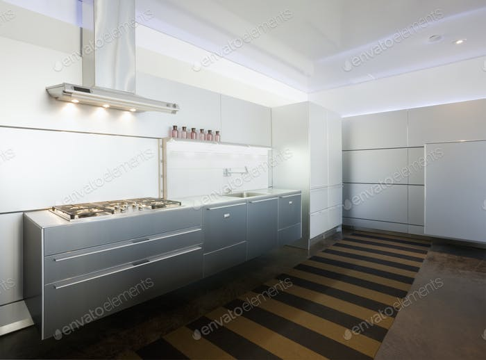 Minimalist, modern kitchen