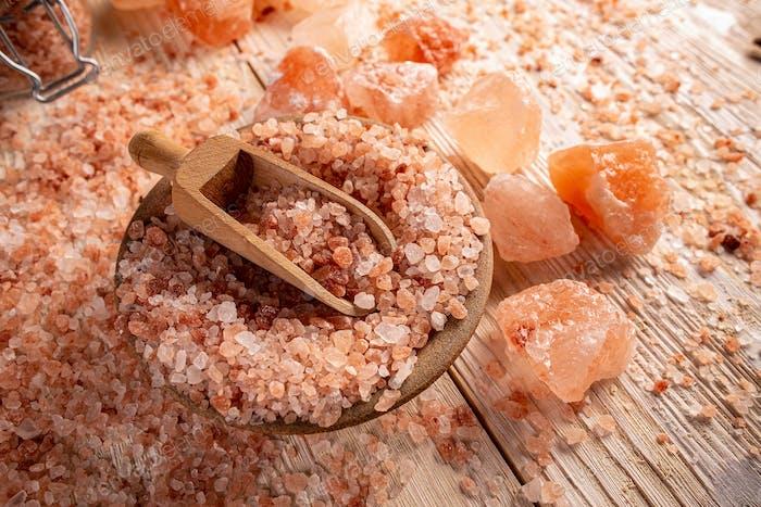 Rosa Himalaya-Salz