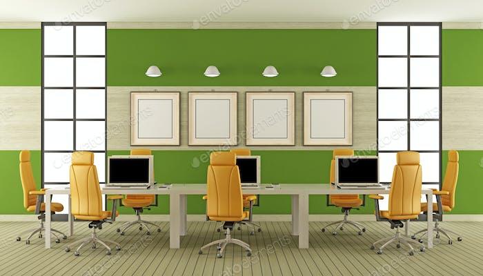 Современный зал заседаний