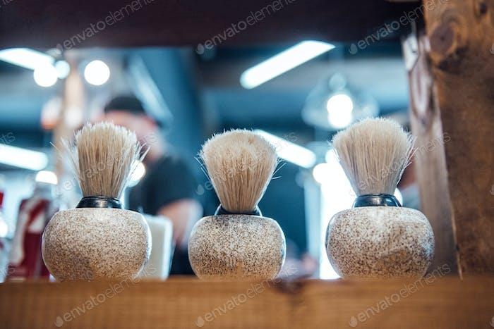 brush in bowl