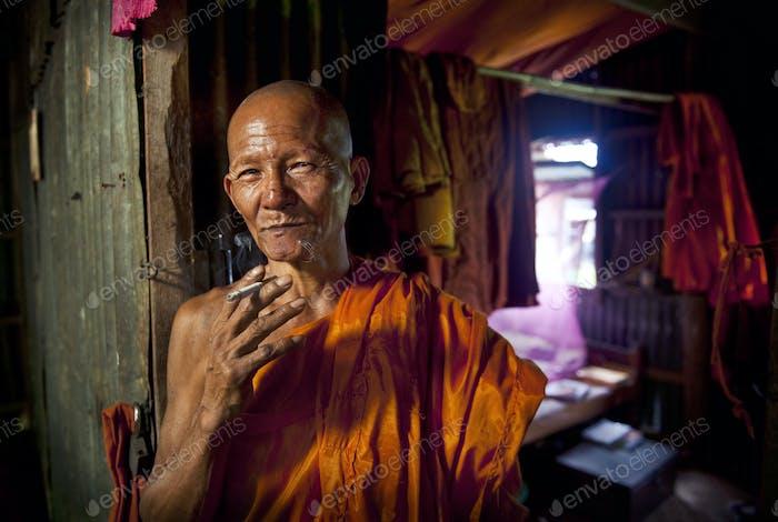 Monk Monastry Portrait
