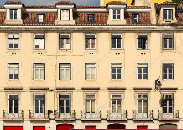 Gebäudehintergrund