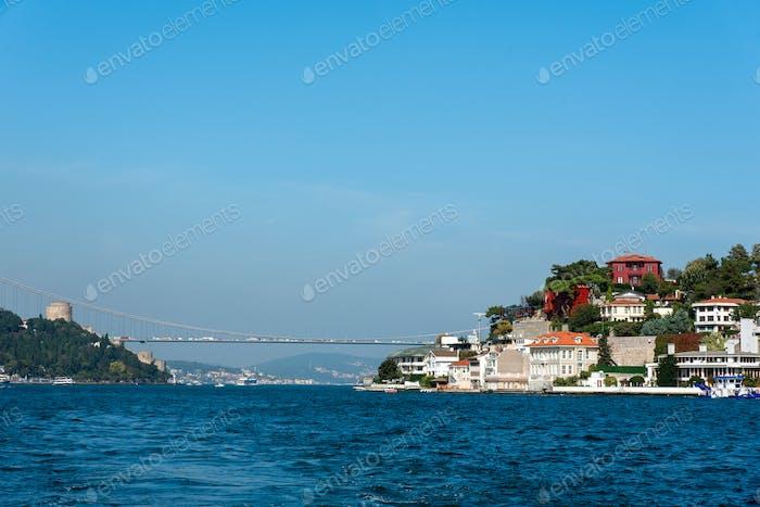 The Bosphorus in Istanbul
