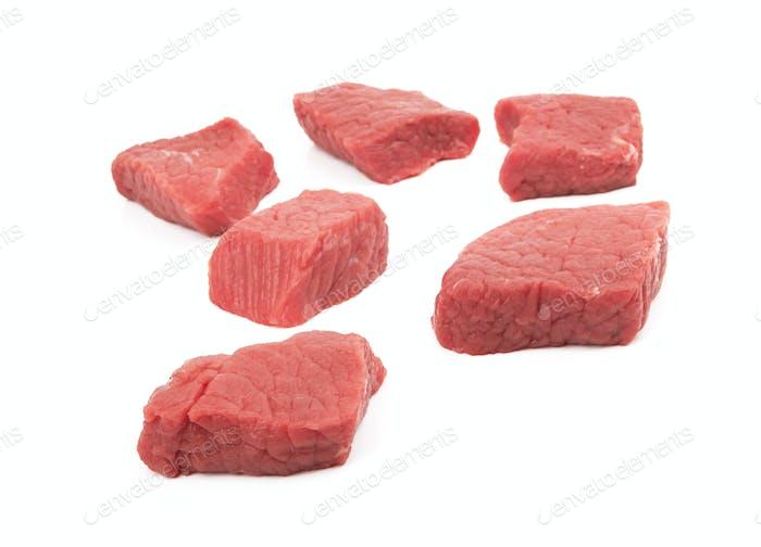 Frisches rohes Fleisch