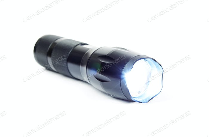 metal flashlight