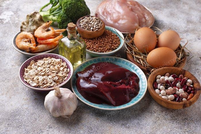 Gesunde Produktquellen von Selen