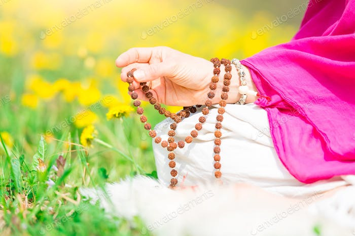 Use of Mala with mantras