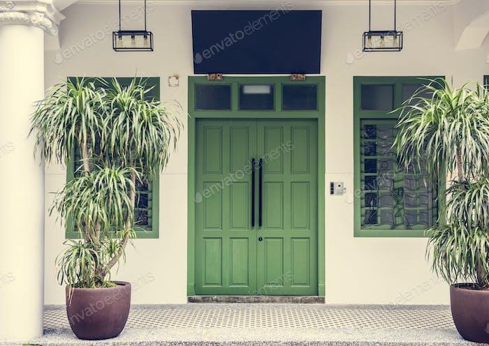 Азиатский стиль дома