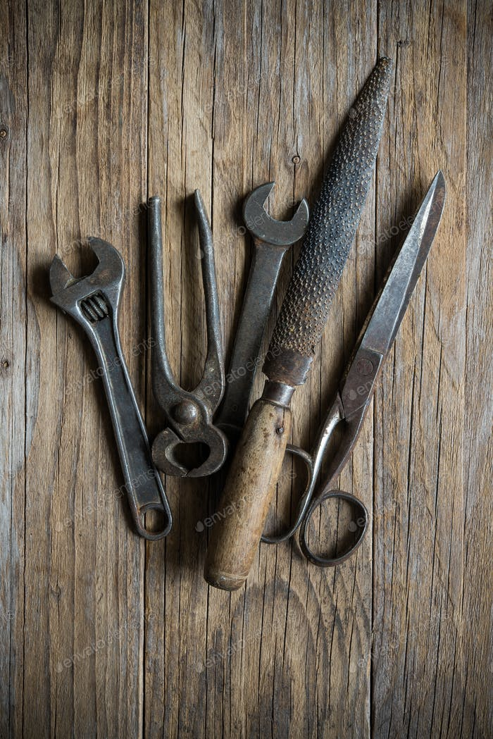 old hardware tools