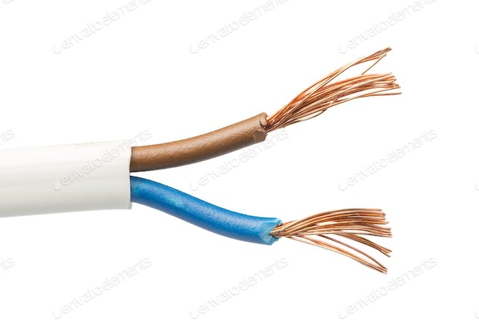 Exposed cables and wires