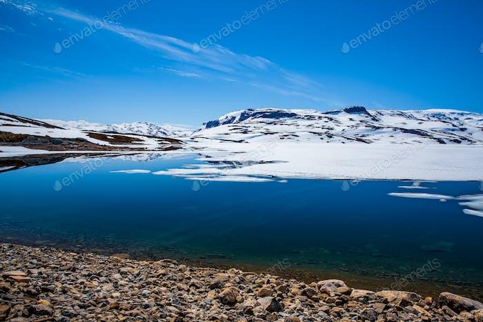 Schöne Natur Norwegen.