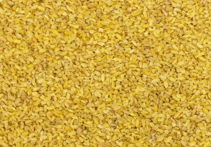 Bulgur Weizenkorn Textur