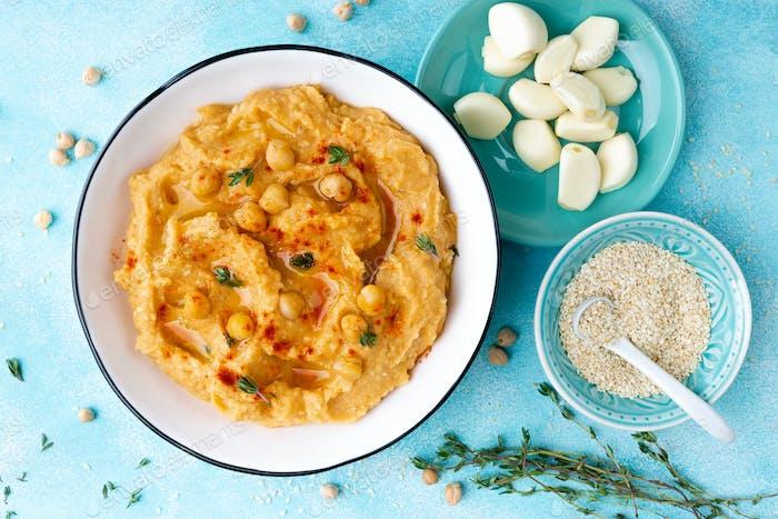 Hummus mit Kichererbse