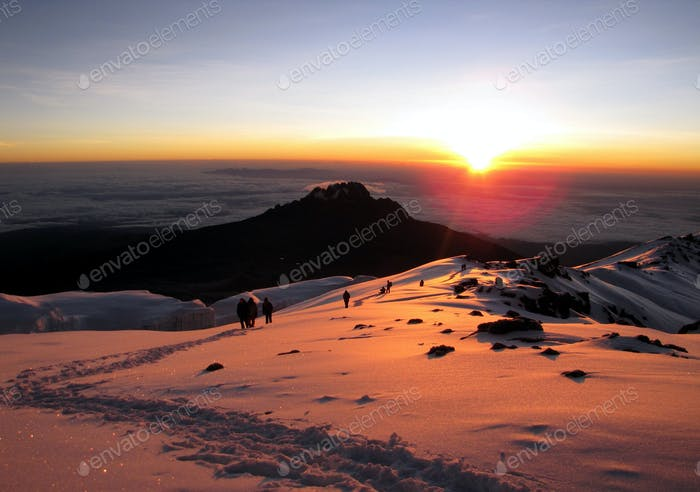 Mount Kilimanjaro - the highest mountain in Africa