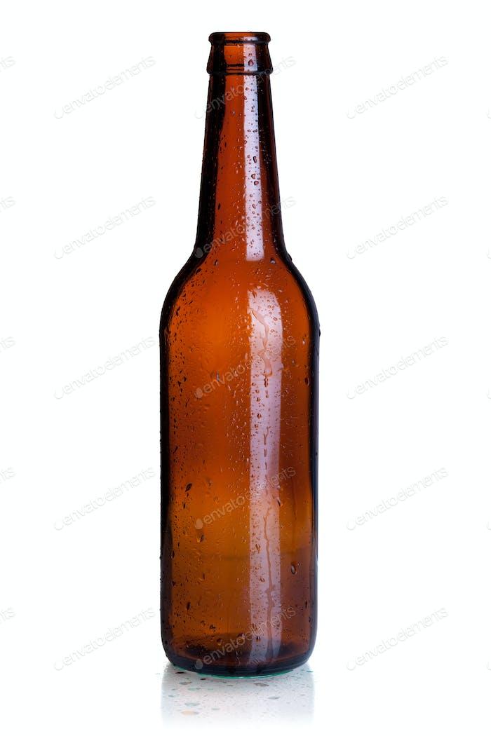 Leere Bierflasche