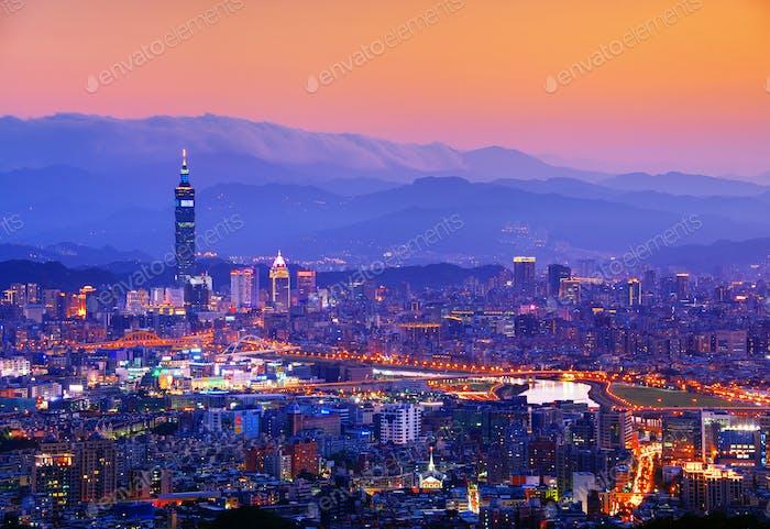 Taipeh Stadtbild