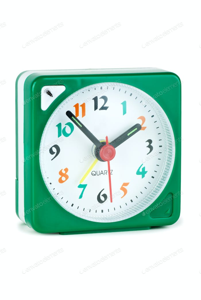 Cheap quartz alarm clock