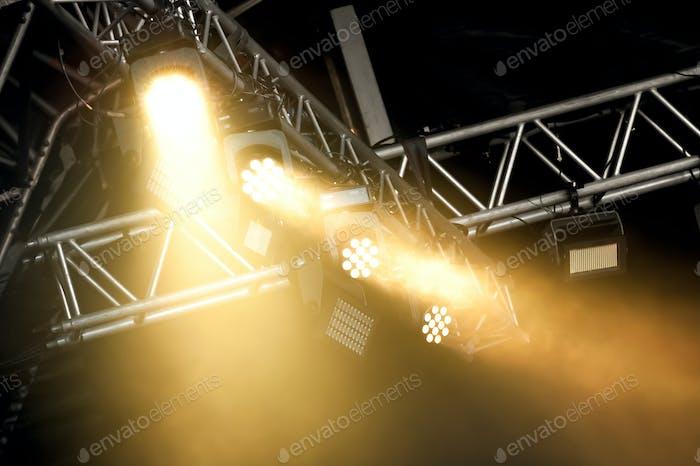 stage spotlights