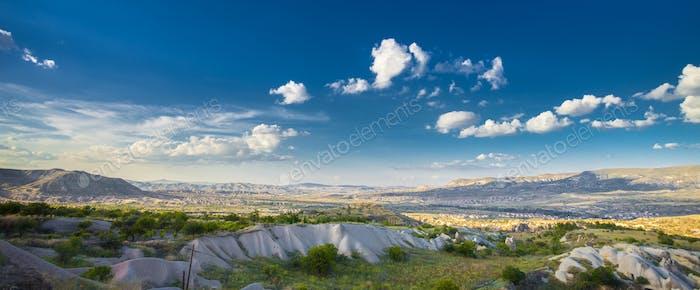 Schöne Landschaft in Kappadokien