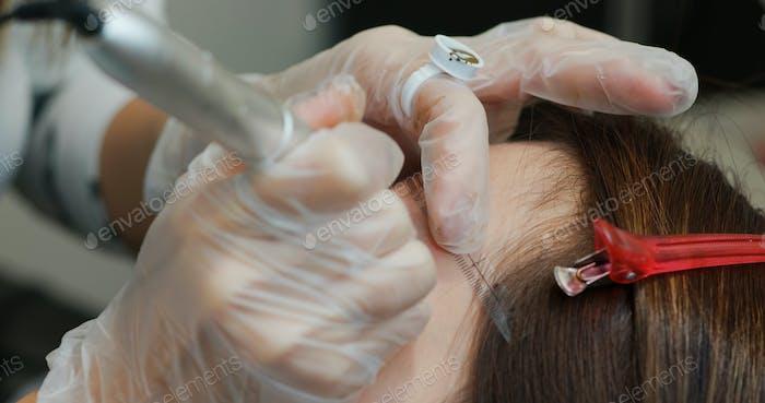 Microblading Augenbrauen Tattoo, Permanent Make-up
