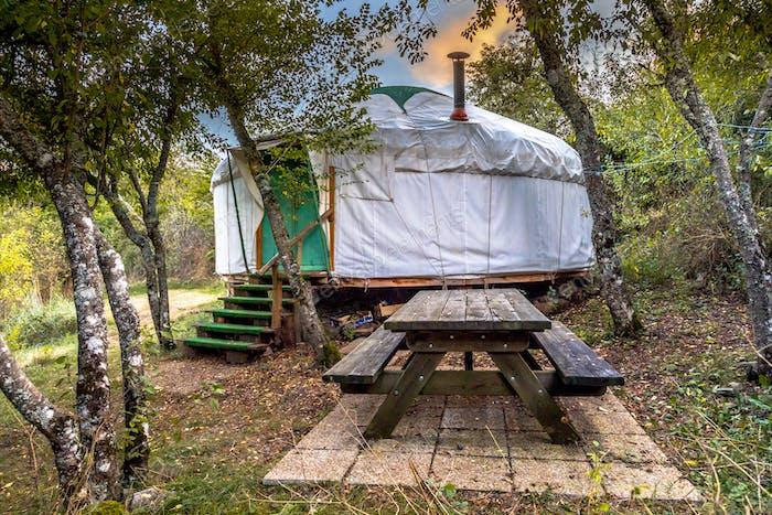 Traditional Mongolian Yurt