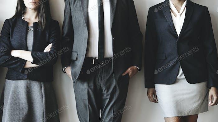 Corporate business team