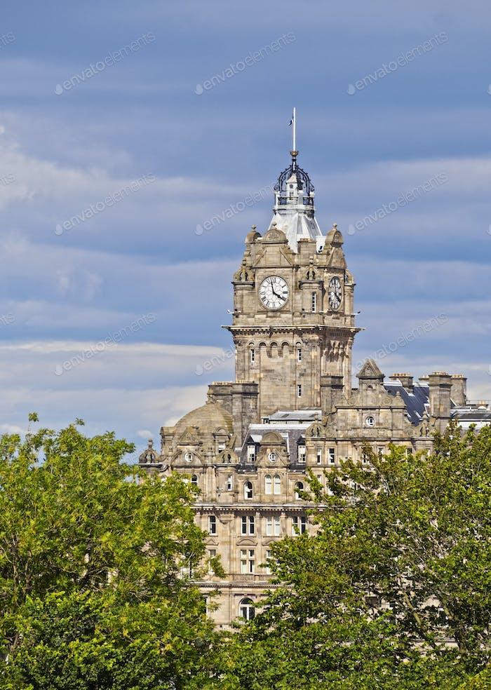 Balmoral Hotel in Edinburgh