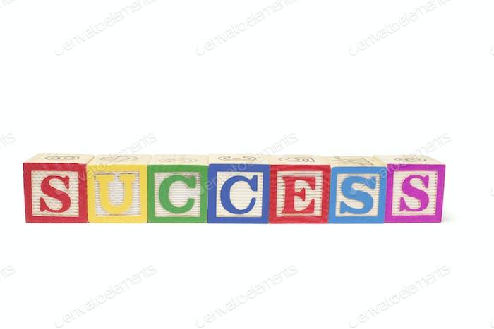 Alphabet Blocks - Success
