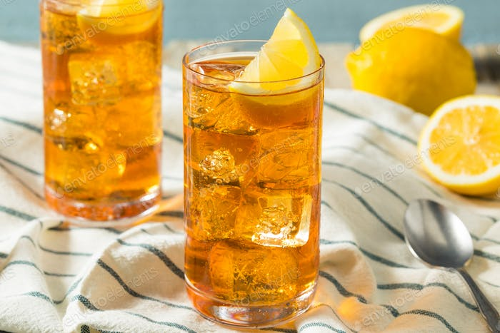 Refreshing Southern Sweet Iced Tea