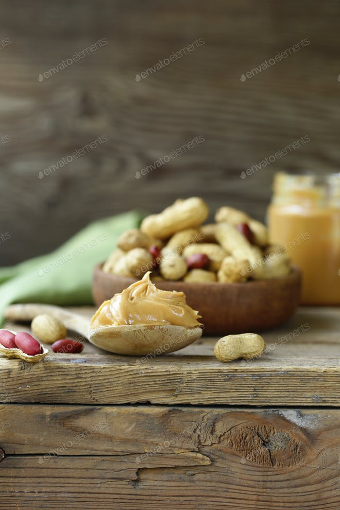 Natural Organic Peanut Butter