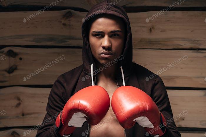 Listo para pelear.